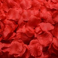Wholesale Romantic Artificial Bouquet Silk Rose Petals Wedding Decorations Flowers Wedding Party Garlands Accessories Colors cm ELF001