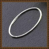 Accessoires Bijoux rhodium bricolage laiton plaqué glissement / boucle  ellipse anneau / saut découverte de bijoux bague de forme ovale anneau  MP4005 16x8mm