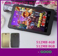 Wholesale 30X inch G Phablet Phone Calling Tablet PC MTK6572 Dual Core Android Capacitive Touch WCDMA GSM Bluetooth Camera DHL FREE