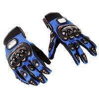Wholesale Breathable Mesh Fabric Motocross Mountain Bike Men Women Windproof Motorcycle Racing Gloves Full Finger