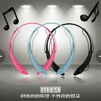 other Wireless Cell Phones MT9 brand AEC Noise Reduction wireless Bluetooth stereo Headphones earphone Headset with MIC for iPhone 5 5S for Ipad for Tablet PC