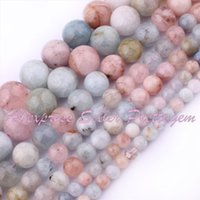 beryl bead necklace - mm Smooth Round Multicolor Beryl Gem Stone Natural Stones For DIY Necklace Bracelat Jewelry Making Beads quot