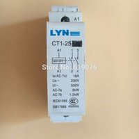 ac ce mark - Free ship CE marked CT1 P A V NO household AC contactor Household contact module