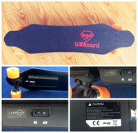 remote control electric skateboard - 2016 new electric skateboard longboard winbord W1 wireless remote control with single brushless hub motor