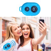 Wholesale Bluetooth Wireless Remote Control Camera Shutter Release Self Timer For iPhone S S S Android Tablet Smartphone