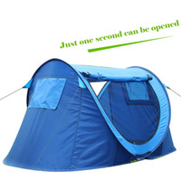 Wholesale Persons Outdoor Camping Hiking Beach Summer Tent UV Protection Fully Sun Shade Quick Open Pop Up Beach Awning Fishing Tent