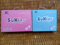 anion sanitary napkins - Deluxe Daily Packaging SUKI Anion Far IR Sanitary Napkin Soft Smooth Cotton with Super Absorbent Layer