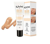 Wholesale 2016 Latest NYX BB Cream beauty balm baume beaute brightens smoothes moisturizes oil free Mineral Enriched ml Colors Free DHL shipping