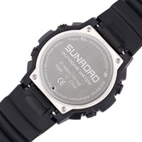 analog altimeter - Sunroad Men Digital Watches Outdoor Watch Clock Fishing Weather Altimeter Barometer Thermometer Altitude Climbing Hiking Hours