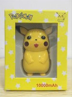 Wholesale NEW Arrival Ball Go Pikachu Power Bank mAh Chargers For Ball Go Plus With LED Light Gifts Retail Box