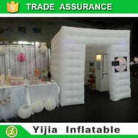 Wholesale Yijia brand best quality portable photo booth tent inflatable