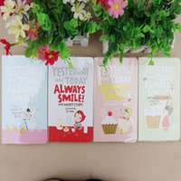 Wholesale Cute Notebook Red hat girl Agenda week plan Diary Day planner journal record stationery office School supplies