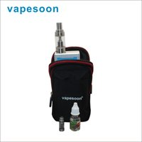 Wholesale 2016 Vapesoon Vape box Bag ecig Black bag new Design multi functional hanging bag Portable bag