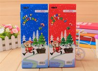 Wholesale 2016 New arrival Christmas stationery set pencil box Children supplies pencil children creative Christmas gifts