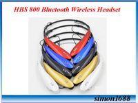 10 PC venden el tono Ultra HBS-800 HBS 800 se divierte los auriculares sin hilos estéreos del auricular del receptor de cabeza de Bluetooth con la caja al por menor VS HBS 930