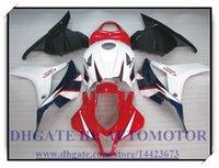 Wholesale INJECTION ABS HONDA CBR600RR F5 CBR600RR CBR600 F5 ABS FAIRINGS Q593H RED WHITE FAIRING KIT CBR600RR