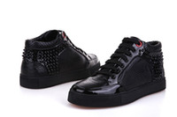 b skin - Fashion Design Crocodile Skin Glossy Leather Royaums Rivets For Mens Comfortable Casual Shoes In Price