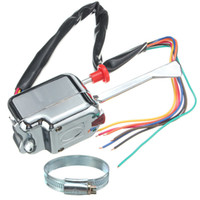 Wholesale DHL Free Universal Street Rod Turn Signal Switch Chrome V For FORD BUICK GM Car Led Lamp Bulb Controller