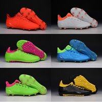 Wholesale new oriGINal mens low ankle fooTbaLls bOOTs PURECHAOS MERCURY ACE X soccer shoes FG TF Messi sOcCEr cLEAts