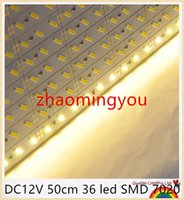Wholesale YON Super Bright Hard Rigid Bar light DC12V cm led SMD Aluminum Alloy Led Strip light For Cabinet Jewelry Display