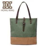 Wholesale HX factory direct sale Handbag shoulder bag retro casual big capacity fashion style speical model tote bag all match style bag