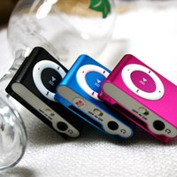 Wholesale 10 High Quality Mini metal Clip MP3 Player With TF Card Slot Without Accessories No Card No Cable