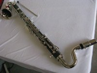 Wholesale Nizza clarinetto basso bb tasti ebonited corpo nichelato grande tono AC