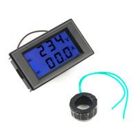 ac current sensing - Dual Display Digital AC Volt Amperemeter Voltage Panel Meter Current Sense Resistors A V V V hot