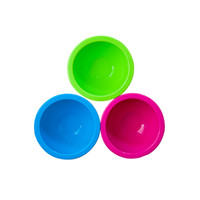 Wholesale Suction cup for children Baby bowl Baby tableware Silicon complementary feeding bowl Anti ironing training bowl