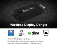 Wholesale Miradisplay WiFi Display TV Dongle GHz WiFi Miracast Airplay DLNA Airplay Mirror HDMI P TV Stick For Android IOS Win7 PC