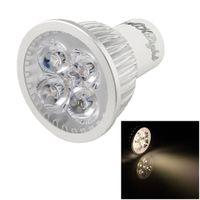Wholesale YouOKLight GU10 W lm K Warm White LED SpotLight Bulb Lamp AC V super brighter bulb