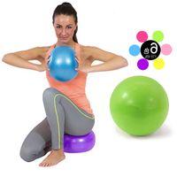 Wholesale ball sofa Mini Yoga Ball Physical Fitness ball for fitness Appliance Exercise balance Ball home trainer balance pods GYM YoGa Pilates cm