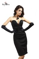 Wholesale The new high end solid temperament Slim Sexy Bra Dress Celebrity Dresses