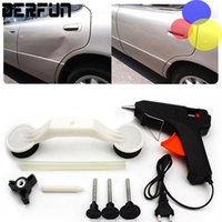 achat en gros de voitures kit-Réparation 100pcs / Carton Car Body Removal Tool Kit Ding pour véhicule Auto Automobile ABS Maintenance Peinture Entretien Auto Outils ABS pistolet à colle