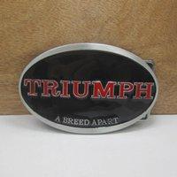 apart fashion - red triumph breed apart fashion belt buckles metal west cowboy brand DIY wild fashion men Black belt buckle Turbo Nos Tunning