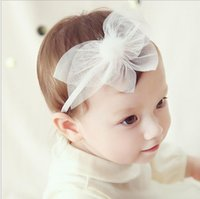 bebe lace - Christmas Kids Girls Lace Headbands Babies Princess Stretchy Hairband Bebe Autumn Cute Hair Accessories Girl Headwear