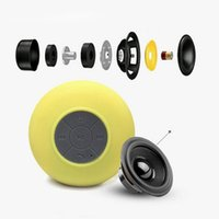 Wholesale New headphones BTS mini portable Shower Bluetooth Speakers with Sucker Support Hands free Calls Function for smartphone wireless earphone