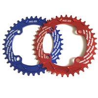 Wholesale 2016 Newest T T T T CNC MTB Chain Wheel Road Bike Bicycle Crank Crankset Disc Chain Wheel Teeth Bicycle Parts
