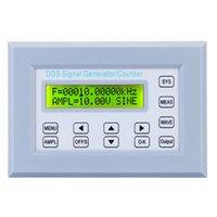 Источник панели Отзывы-10MHZ DDS Функция Генератор сигналов Счетчик частоты источника сигнала по синхронному TTL / ImpulseOutput Square Wave Размах панели
