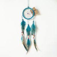 Wholesale Dream Catcher Decor Car and Home Decoration Hanging white Feather New Product Birthday Party Holiday Lover s Gift