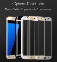 anti steel - Cell Phone Screen Protectors For Samsung S7 Edge Curced Steel Membrane Anit Fingerprint HD Explosin Proof mm Slim Experience