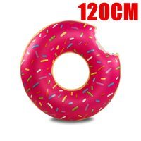 Wholesale Inflatable Donut Pool Float inflatable flamingo unicorn toys Swim Ring Summer Water Toy pool floats cm cm cm