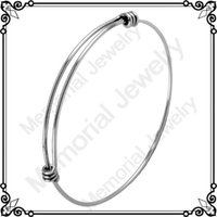 Wholesale IJD0214 Hot Sale Fashion Jewelry Wiring Bangle Expandable Bracelets China dongguan