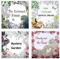 adult mystery books - Adult Coloring Books Designs Enchanted Forest Mystery Garden Adult Relieve Stress Kill Time Graffiti Painting Coloring Books