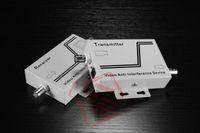 Dispositif vidéo anti-brouillage Multiplexeur vidéo anti-interférences UTP Balun Transceiver Type d'alimentation