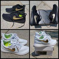 Wholesale 2016 Roshe Run White Black Gold Running Shoes For Men and Women Lightweight Roshes Good Quality Mesh Roshe Runs Athletic Sneaker Eur