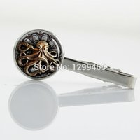 animations octopuses - High Quality animation Tie Clips Brand Fashion Apparel octopus comics Tie Clips Popular Male Luxury movie Tie Pins T