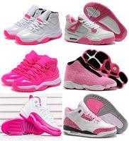 Wholesale Women s Basketball Shoes Cheap China Jordan Generation Pink Series Shoes Retro Shoes Original Quality Sales Size US