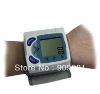 ac adapter tester - Digital LCD Wrist Blood Pressure Monitor Heart Beat Meter Machine Gauge Tester Sphygmomanometer Register
