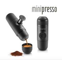 Wholesale Minipresso Portable Coffee Maker Manually Hand Pressure Espresso Coffee Machine Pressing Wacaco Machine Manual Coffee Maker